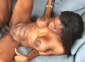 Big-titted chocolate sweetie..