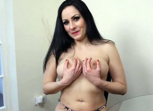 Breast jiggling cougar  as she..