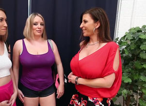 Kimber Lee in Lezzy  with Sara Jay &..