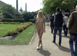 Blondie vanessa nude on public streets