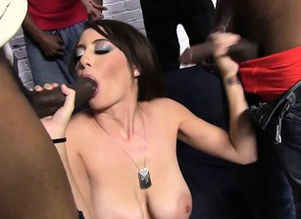 Bella-Nikole Dark-hued Big black cock..