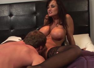 Lisa Ann Pummels Young woman  Man