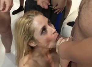 Man meat Dickblower Sarah Vandella And..
