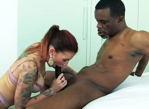 Posh Brit Bitch for Big black cock in..