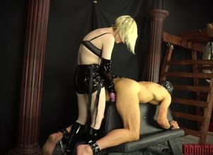 Becoming Her Toy - Domina pegging Her..