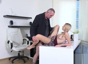 Spunky college girl gets tempted and..