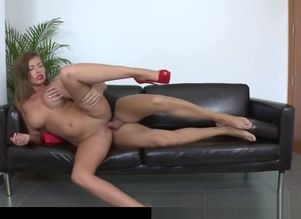 huge Boobed Donna Bell In Audition