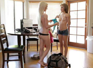 Natasha Milky And Skylar Green Pulverize