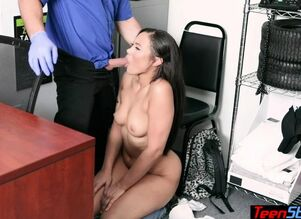 Lush latina youngster shoplifter..