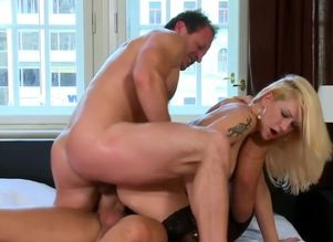 Blondie Stacy Silver Gets Dp'd By 2..
